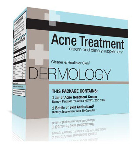Dermology acne treatment cream 1 month supply