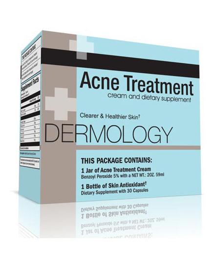 Dermology acne treatment cream 1 month supply