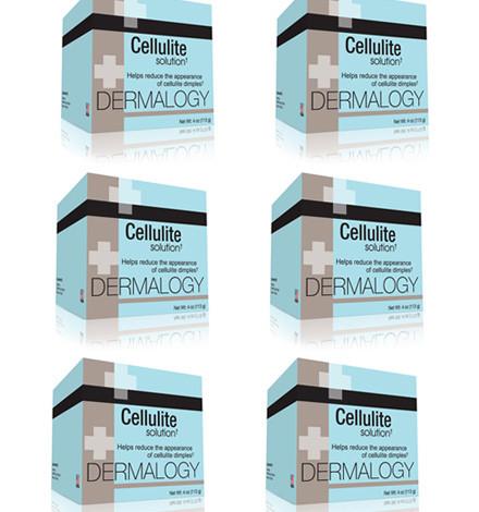 Dermology Cellulite Cream – 6 Month Supply