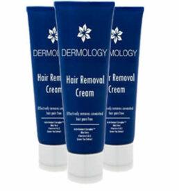 dermology hair removal cream- 3 months supply