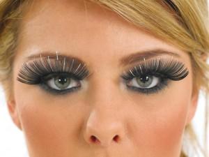 Fan like lashes