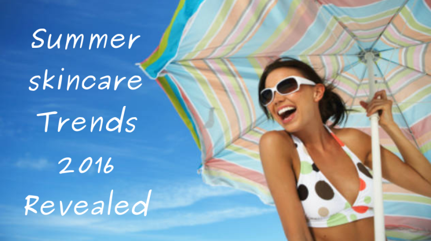 summer skincare trends