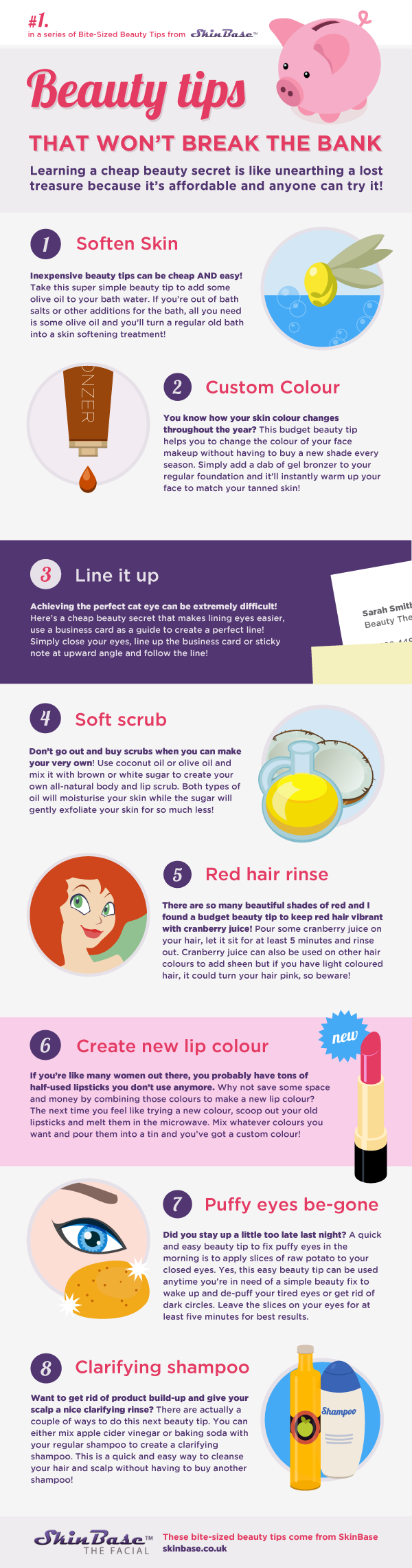 beauty tips for women