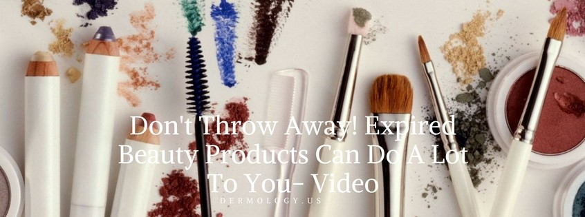 Expired beauty products